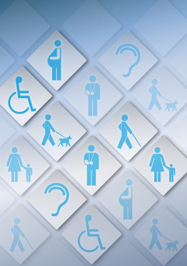 WCAG 2.0 AA core principles of accessibility